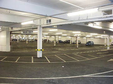 Undercroft car parking, Highams Park