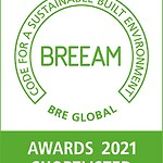 Scott White and Hookins Project Shortlisted for the BREEAM Awards 2021
