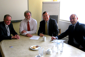 Martin Tod visits Winchester Office