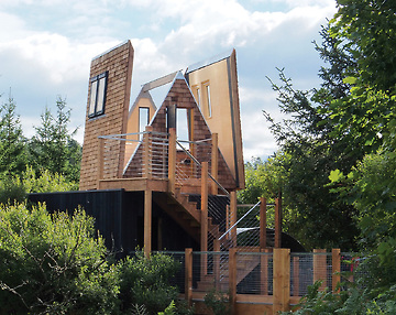Amazing Spaces, Kielder Forest, Treehouse
