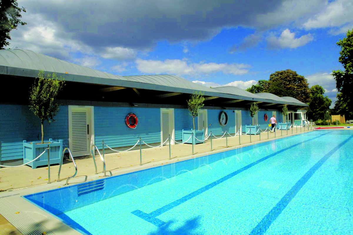 Wood Awards 2012 Gold Award And Structural Award Hurlingham Club Outdoor Pool