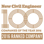 Ranked in the top 100 civil engineering practices